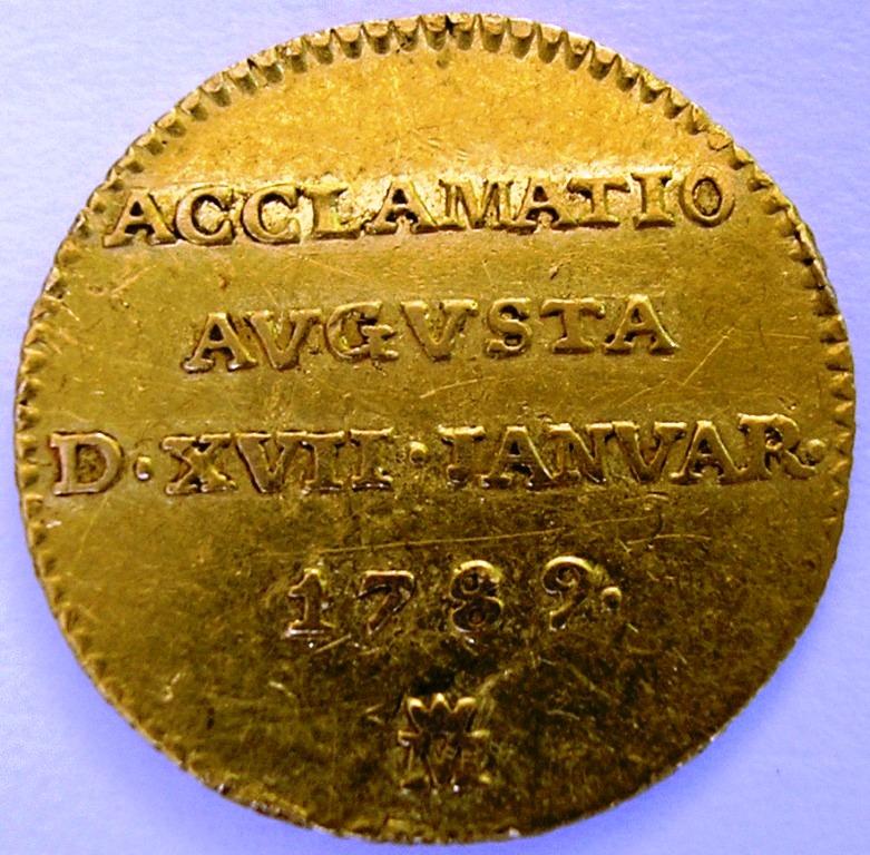 Medio escudo Carlos IV 1782 Madrid. C_iv_m13