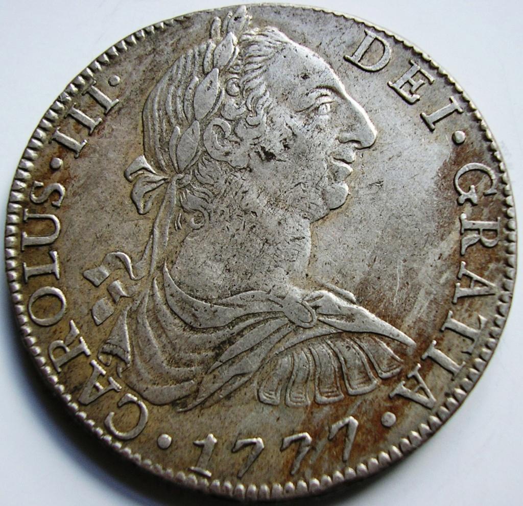 España. Carlos IV (1788-1808). 8 Reales 1807 POTOSÍ* EROSIONES MARINAS * Carlos14