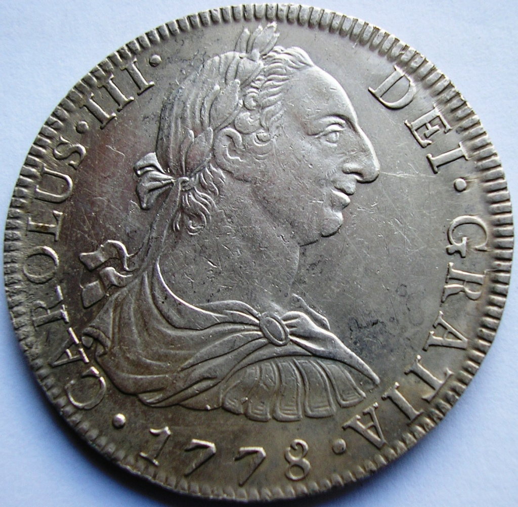 España. Carlos IV (1788-1808). 8 Reales 1807 POTOSÍ* EROSIONES MARINAS * Carlos16