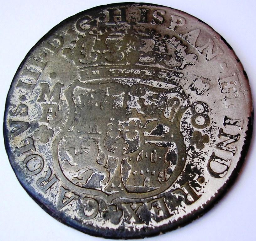 Carlos III 1763, falsa de época. Carlos24