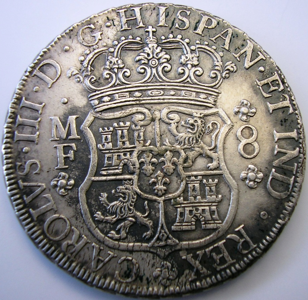 Carlos III 1763, falsa de época. Carlos26