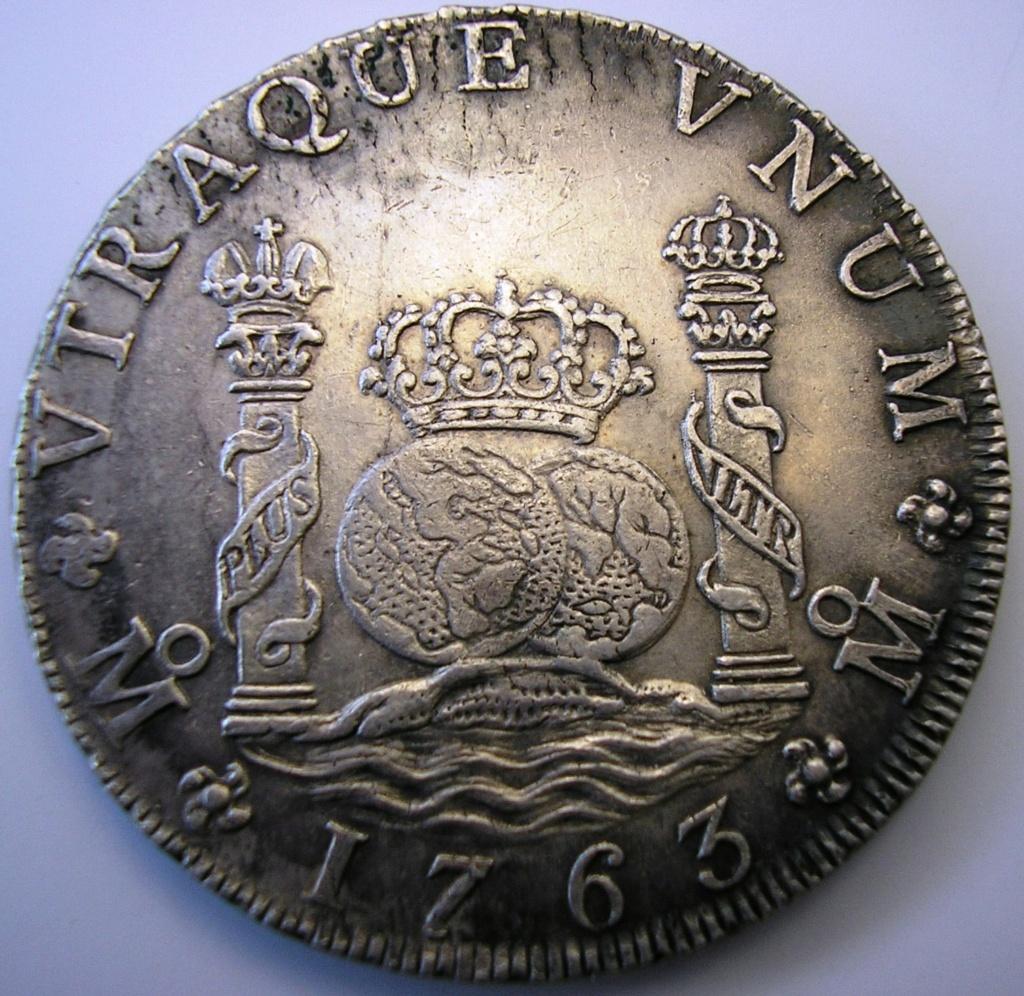 Carlos III 1763, falsa de época. Carlos27