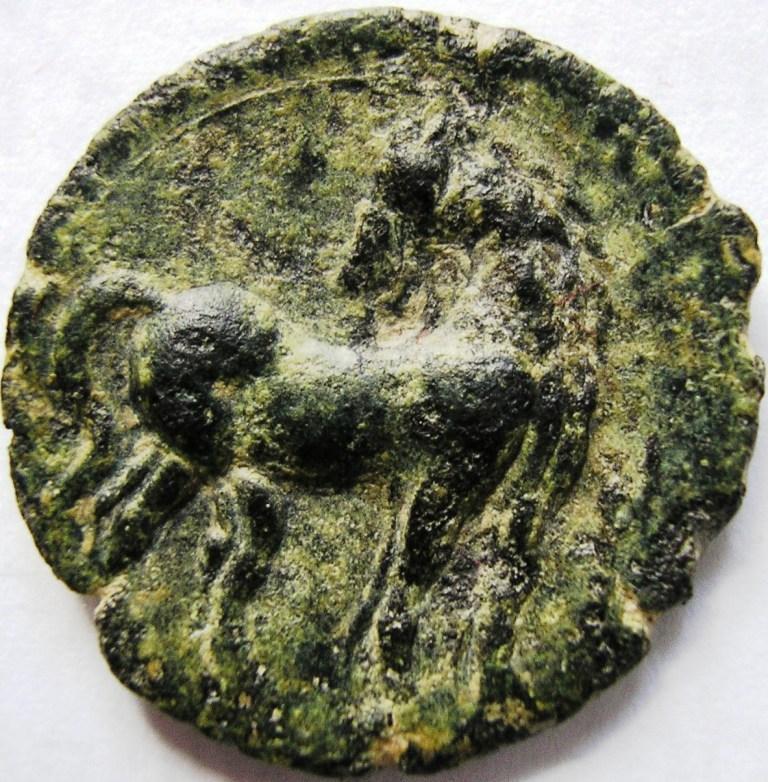 Cartago medio shekel. Cartag17