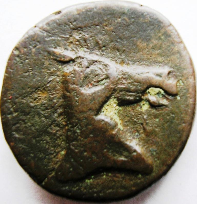 Cartago medio shekel. Cartag33