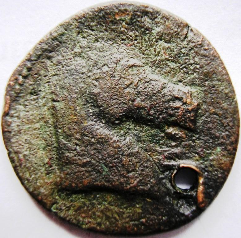 Cartago medio shekel. Cartag35