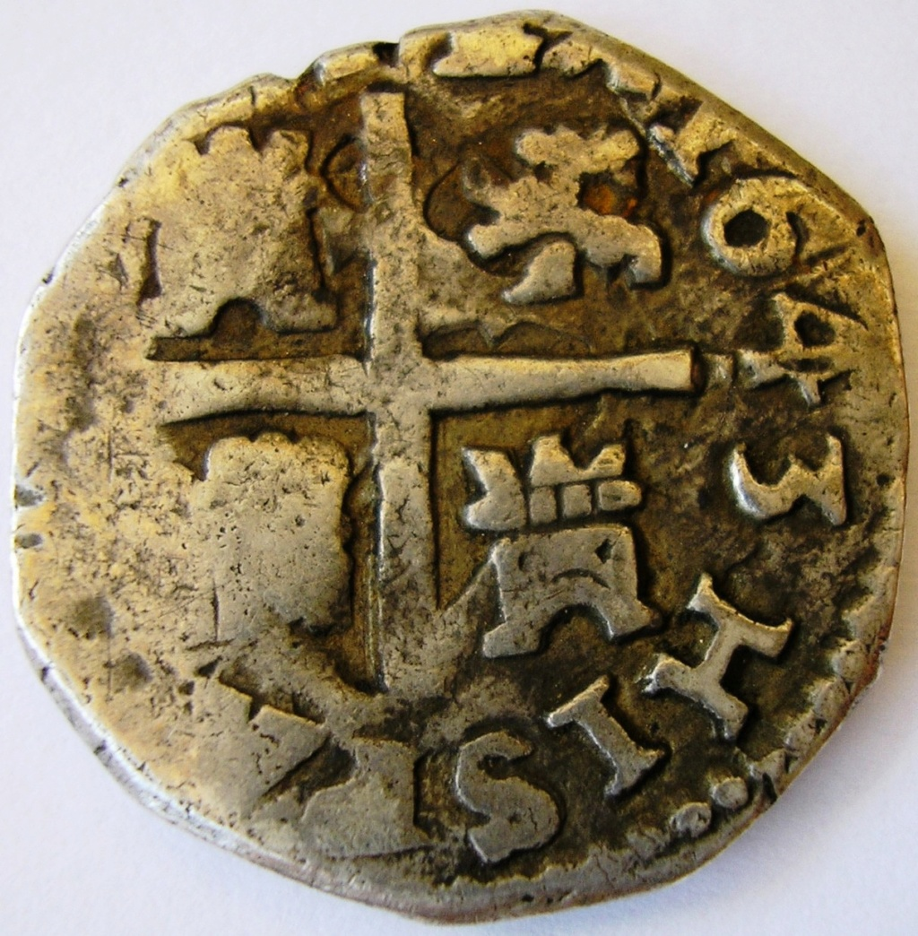 2 reales de Busto de Felipe IV con dígito de la fecha retrógrado F_iv_m11