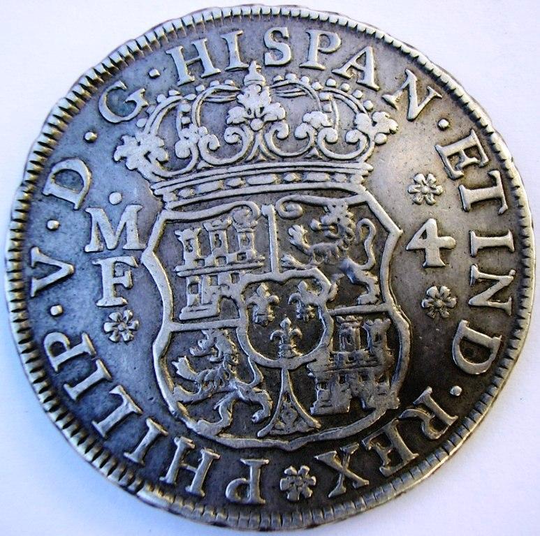4 reales Méjico 1740. F_v_4r10