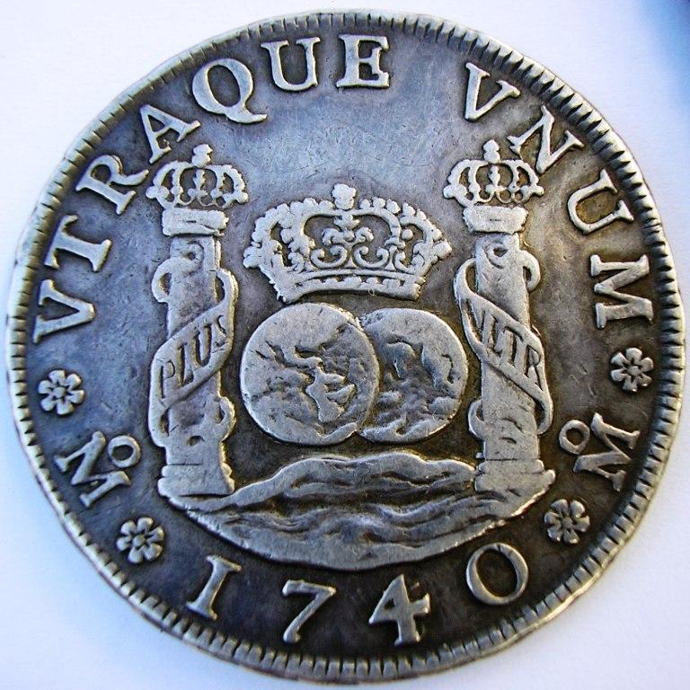 4 reales Méjico 1740. F_v_4r11