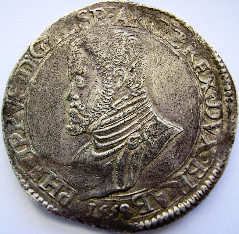1558 Amberes con título de Rey de Inglaterra. Fel_ii10