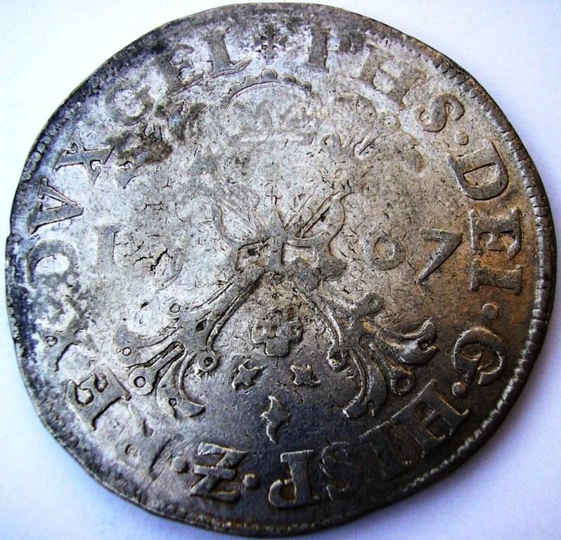 Escudo de plata de 1567 de Nimega (Gueldres) Fel_ii17