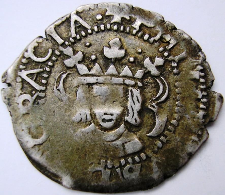 Dihuité o real valenciano 1618. Felipe12