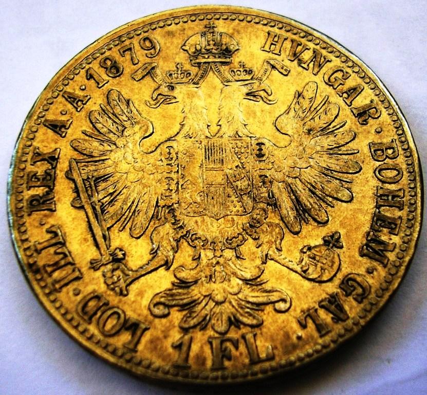 Austria, 1 Florín de 1879 Florin11