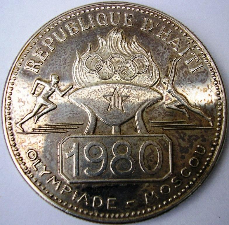 propaganda estatal en las monedas. Haiti_11