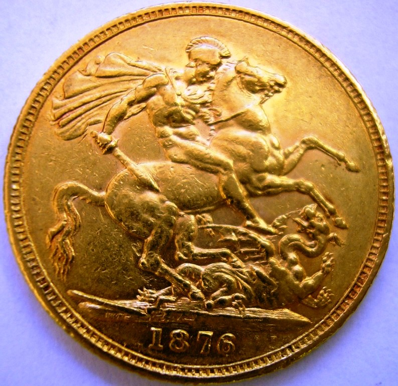 Inglaterra Victoria 1876 Inglat11