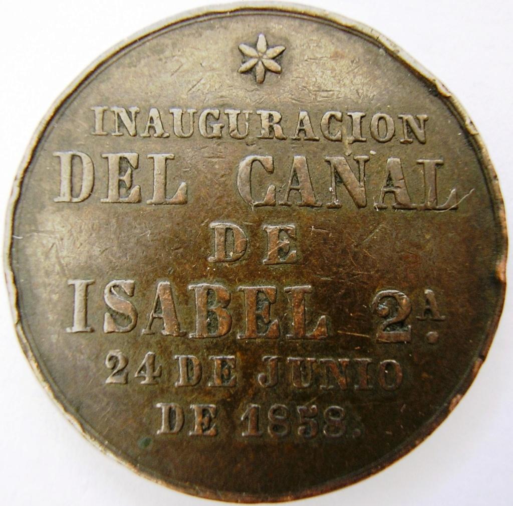 Inaguración del canal de Isabel II. Isabel11