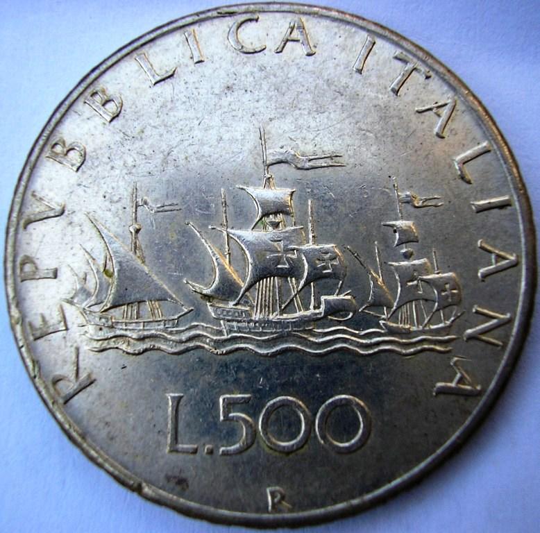 500 liras italia 1966 Italia11
