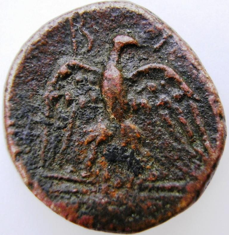 bronce de Perseo, último rey macedónico. Macedo11