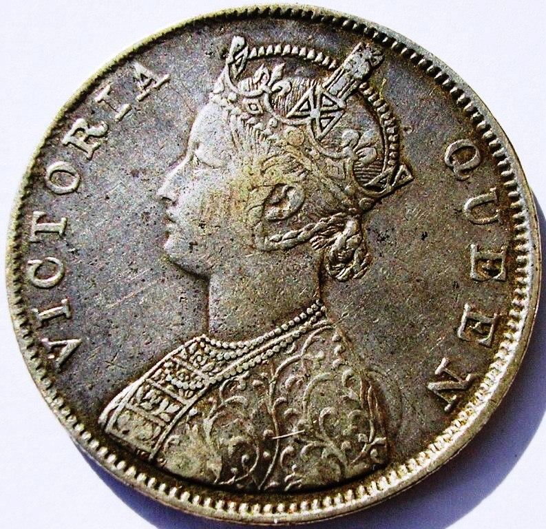 Rupias coloniales en la India. Rupia_10