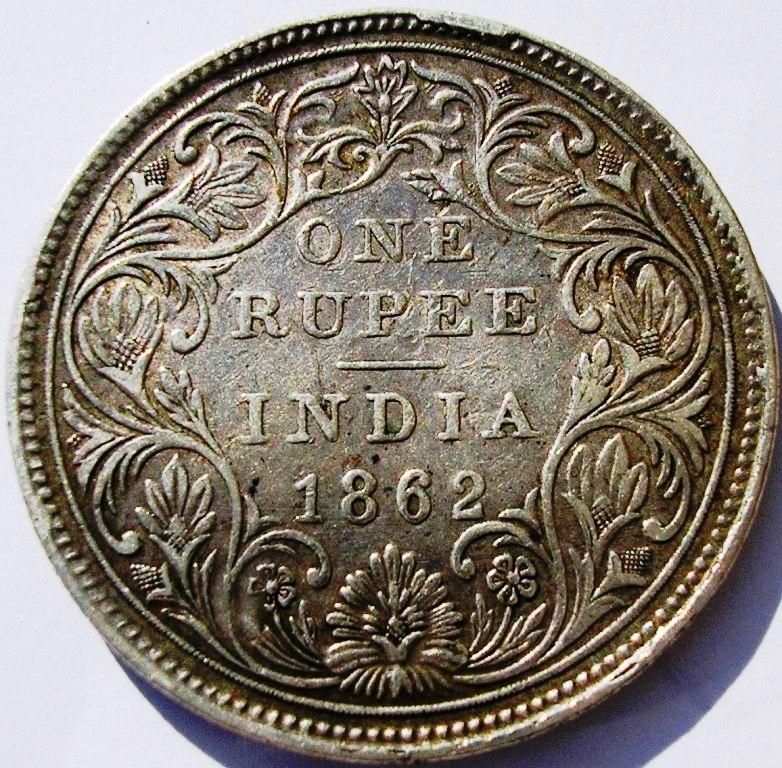 Rupias coloniales en la India. Rupia_11