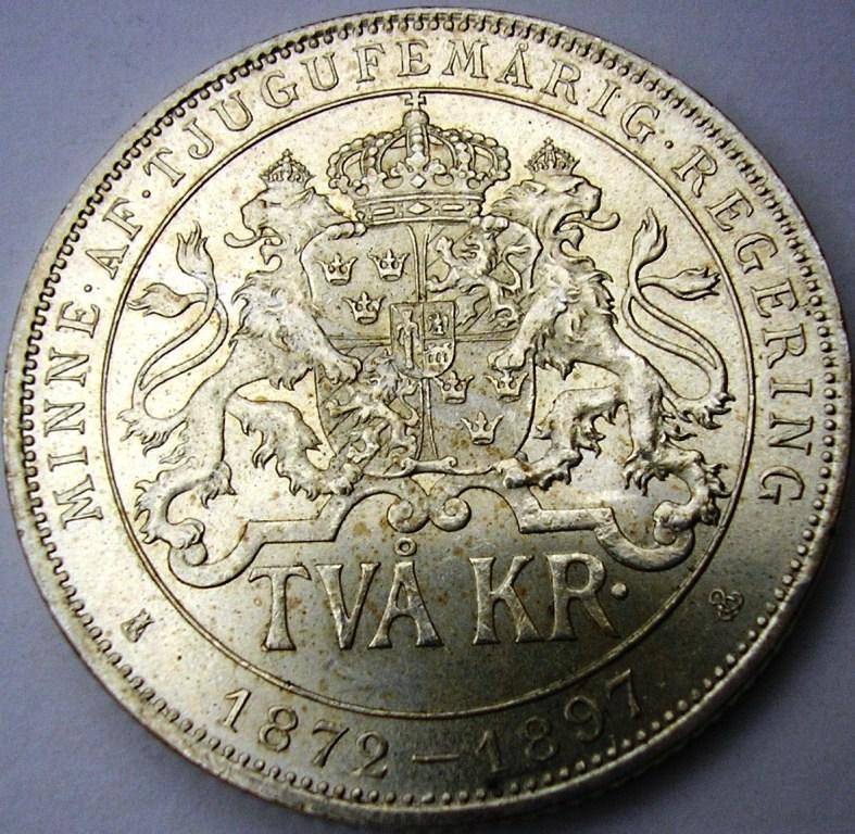 Oscar II  1897. Suecia11