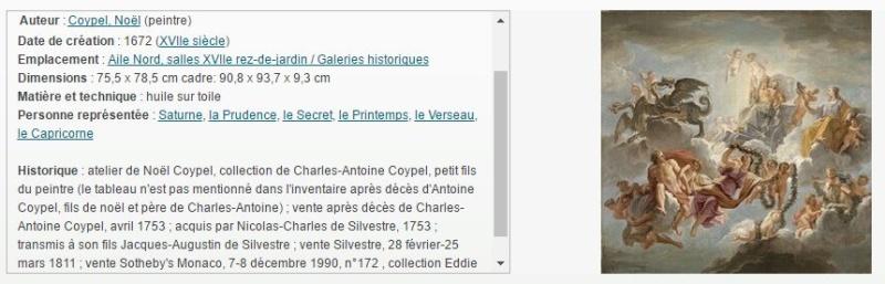 Cronos, Chronos ou Saturne, dieu du temps à Versailles Coypel11