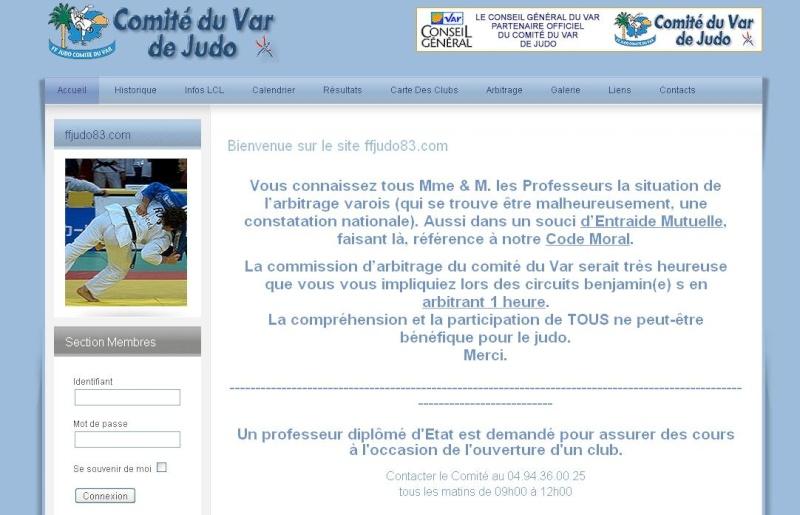 Contraire Bernard et les profs de judo Varois : Incompatibilité ! Comita10