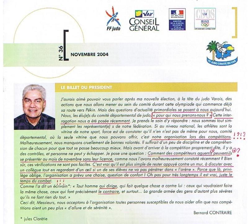 Contraire Bernard et les profs de judo Varois : Incompatibilité ! Nov_2010