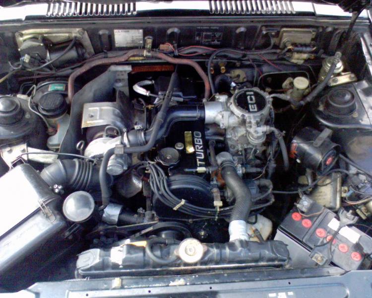 Mitsubishi Lancer 2000 Turbo Moteur10