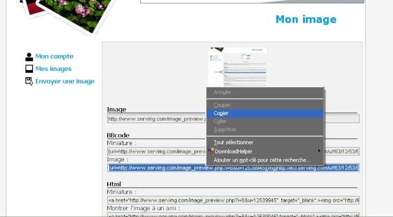 Poster une photo sur le forum : comment faire. 101010