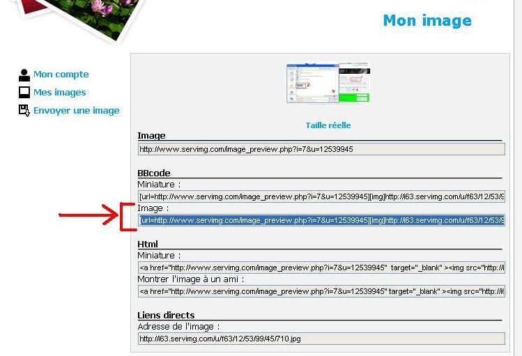 Poster une photo sur le forum : comment faire. 91011