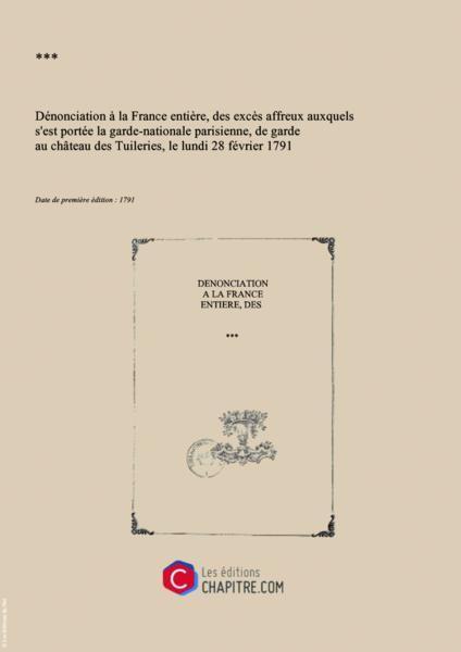 claques - La Journée des Claques, le 28 février 1791 10089210
