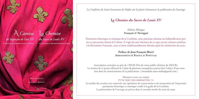 La Chemise du Sacre de Louis XV 12615310