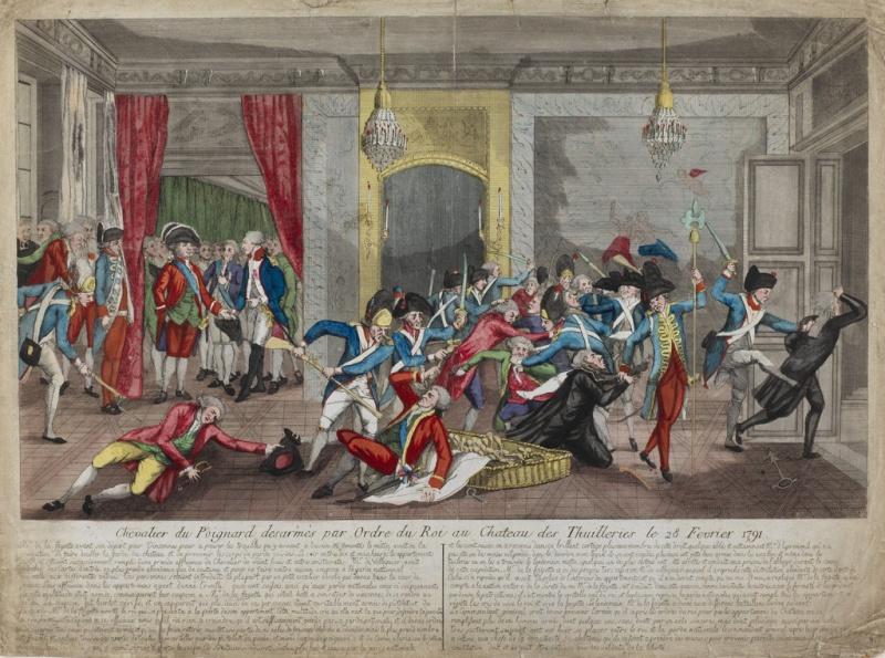 claques - La Journée des Claques, le 28 février 1791 22501610