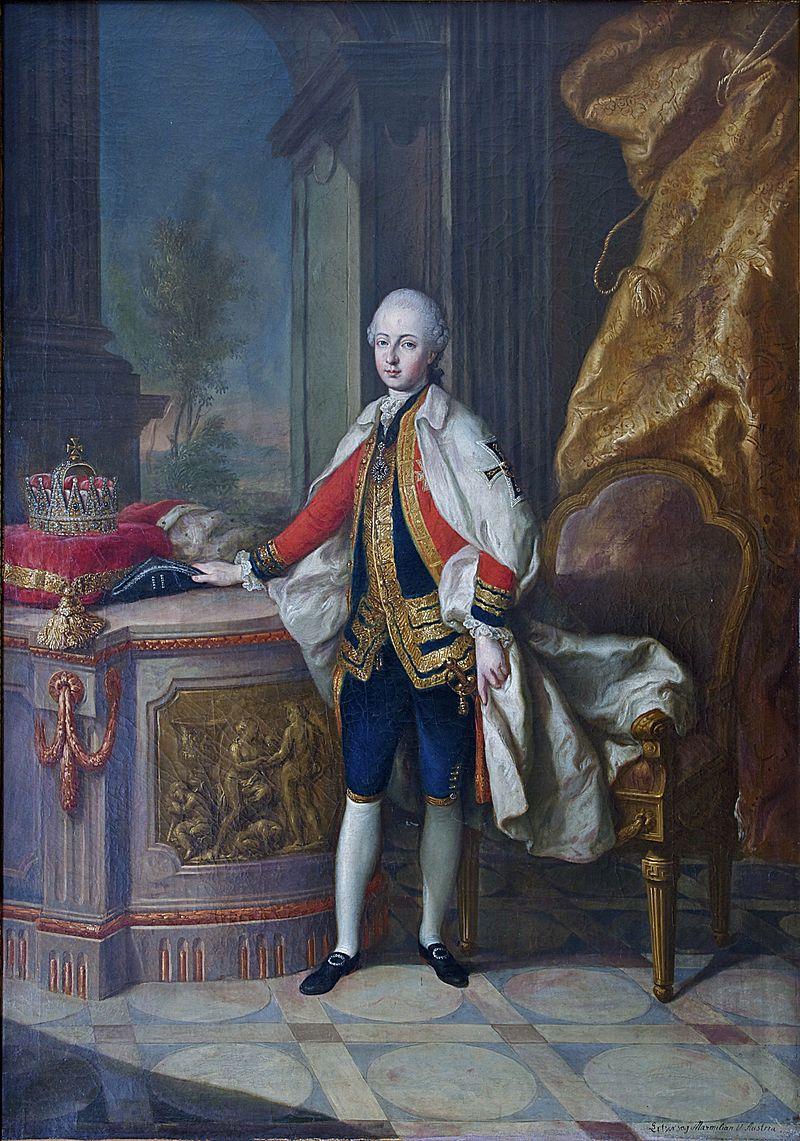 Les visites des archiducs Maximilien et Ferdinand d'Autriche, à Versailles Aaa74