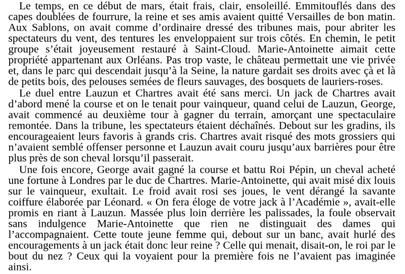 Marie-Antoinette et les courses hippiques Books18