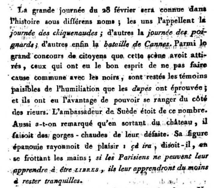 claques - La Journée des Claques, le 28 février 1791 Books_10