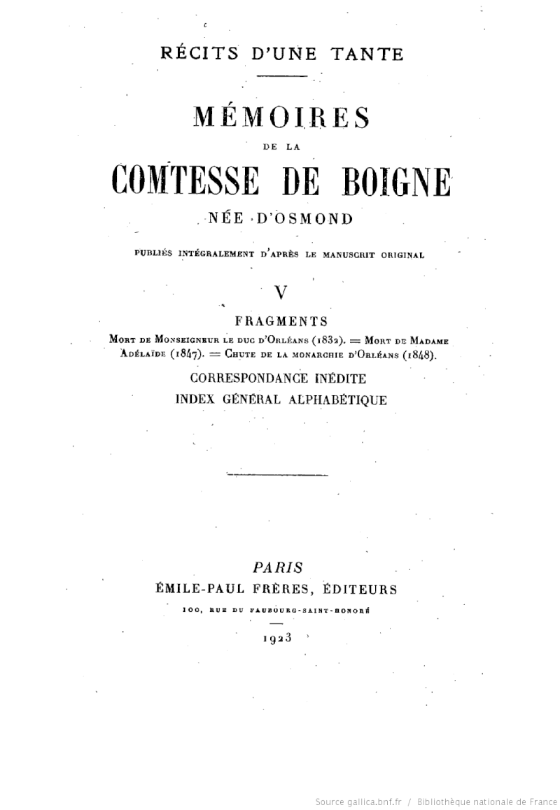 Mémoires de la comtesse de Boigne Bpt6k210