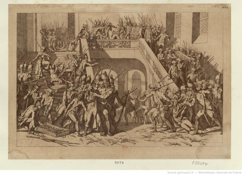 claques - La Journée des Claques, le 28 février 1791 Btv1b611
