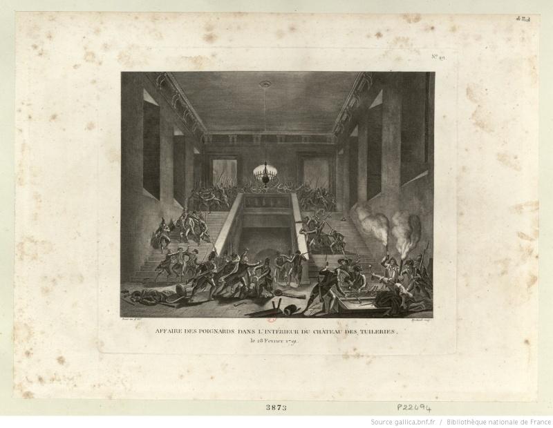 claques - La Journée des Claques, le 28 février 1791 Btv1b612