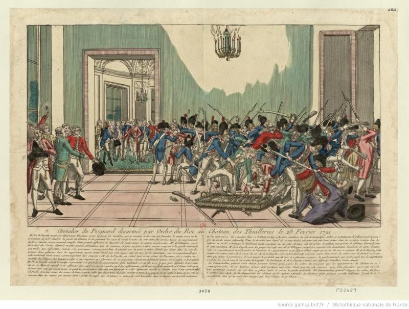 claques - La Journée des Claques, le 28 février 1791 Btv1b613
