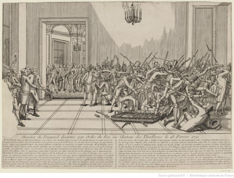 claques - La Journée des Claques, le 28 février 1791 Btv1b810