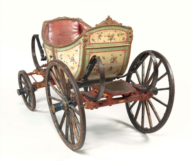 Les véhicules du XVIIIe siècle : carrosses, berlines, calèches, landaus, cabriolets etc. Carros10