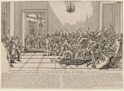 claques - La Journée des Claques, le 28 février 1791 Cheval11