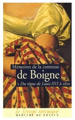 Mémoires de la comtesse de Boigne Comtes10