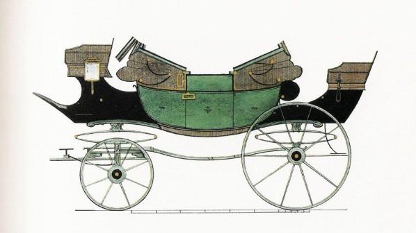 Les véhicules du XVIIIe siècle : carrosses, berlines, calèches, landaus, cabriolets etc. J_dink10