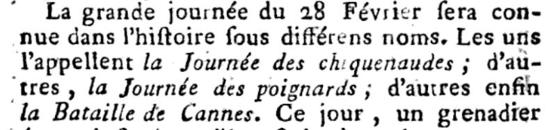 claques - La Journée des Claques, le 28 février 1791 Les_ca10