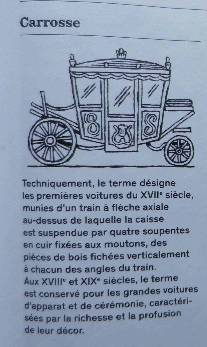 Les véhicules du XVIIIe siècle : carrosses, berlines, calèches, landaus, cabriolets etc. Petit_11