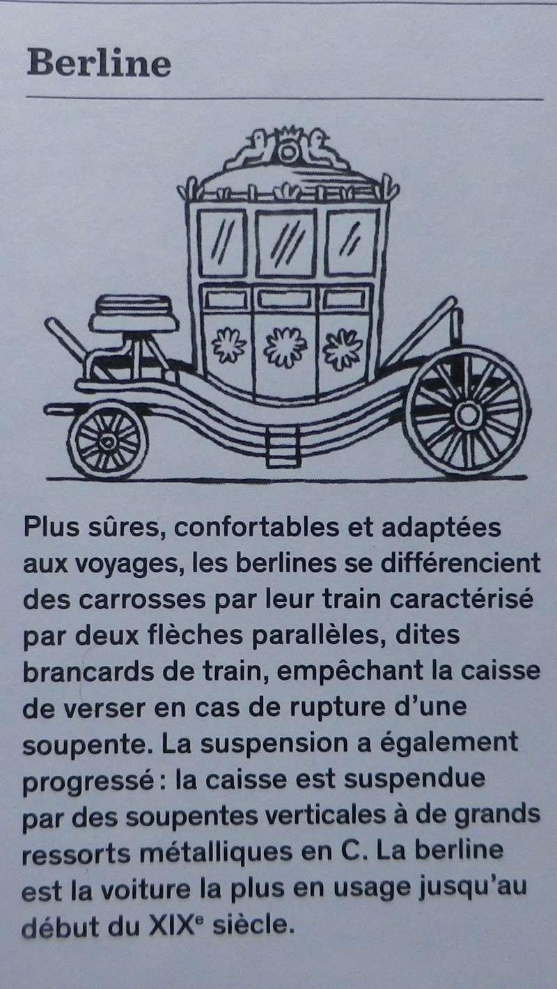 Les véhicules du XVIIIe siècle : carrosses, berlines, calèches, landaus, cabriolets etc. Petit_12