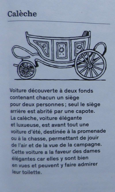 Les véhicules du XVIIIe siècle : carrosses, berlines, calèches, landaus, cabriolets etc. Petit_14