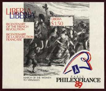 La Révolution, à travers la Philatélie Poissa10